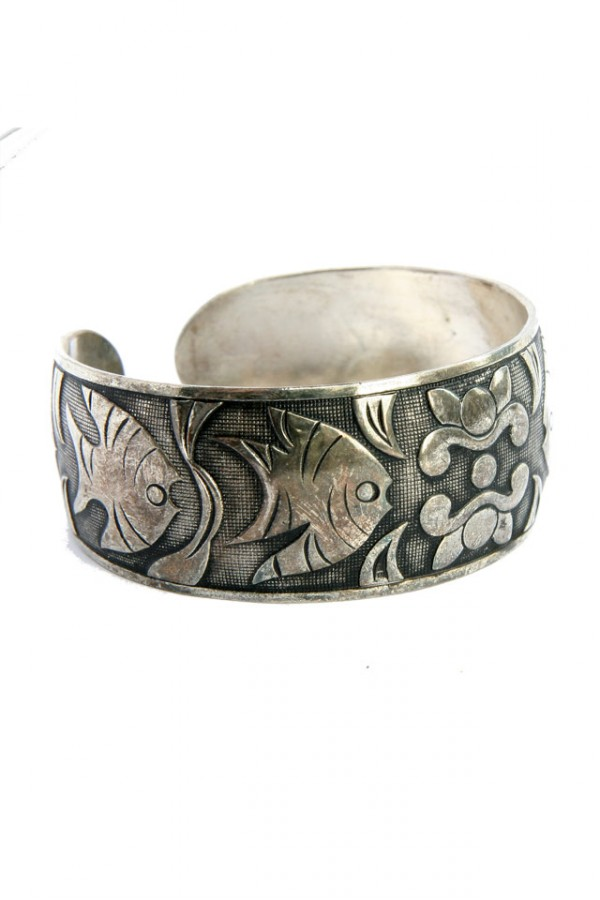 Vintage Armband - Fish in the Sea 3
