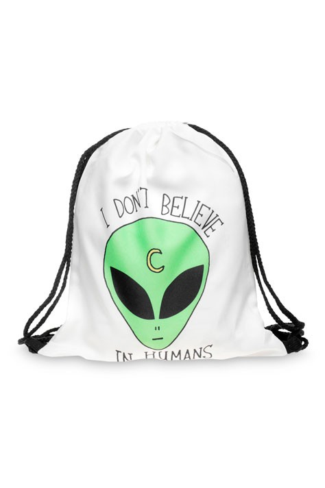 Drawstring Bag - I Don't Believe In Humans
