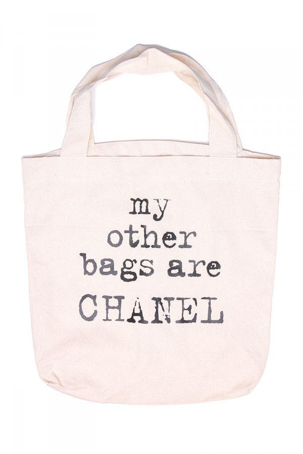 Stor Bag - Chanel Only