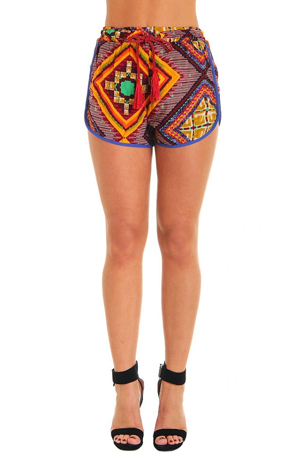 Moroccan Tile Shorts