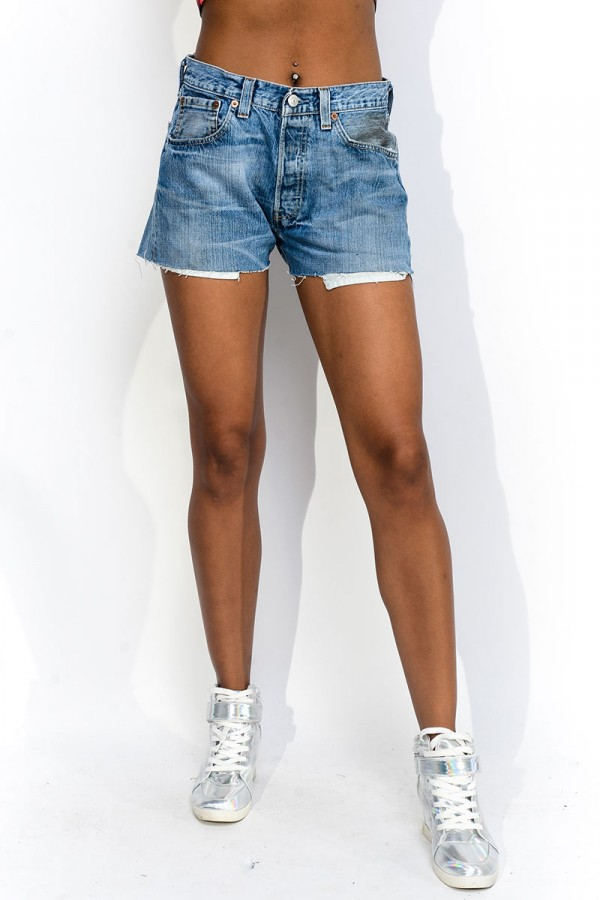 Slitna Levis Shorts - Tennessee