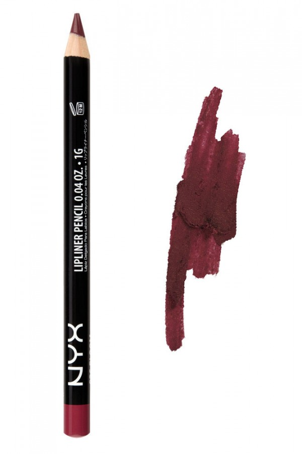Slim Lip Pencil - Burgundy