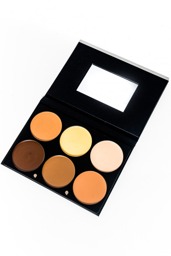 Contouring & Highlighting Cream Foundation Palette