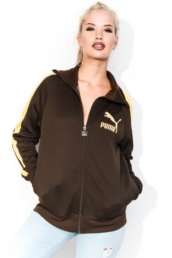 Vintage Zip - Puma Brown & Yellow