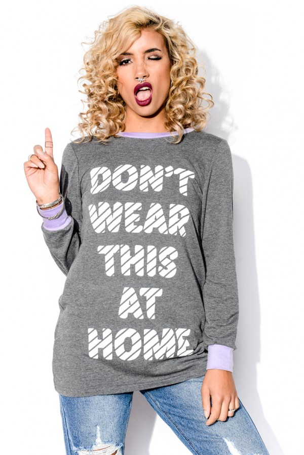 Sweatshirt - Don't Wear This At Home