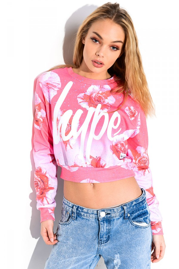 Cropped Sweatshirt - Lily