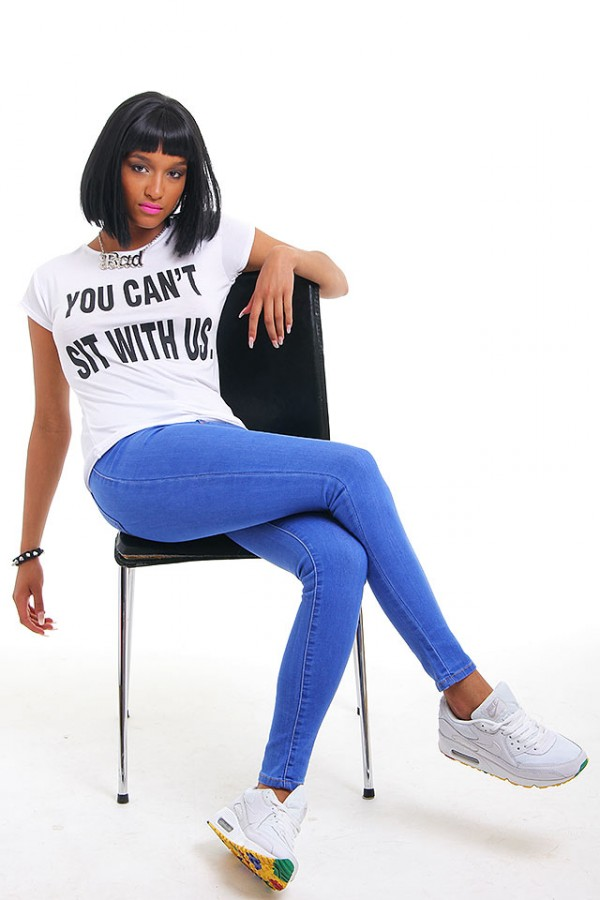 Vit T-Shirt - You Can't Sit With Us