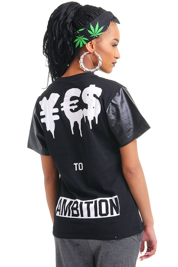 Svart T-shirt - Yes To Ambition