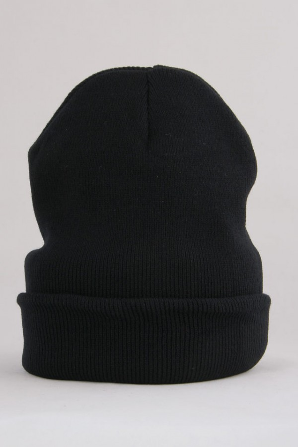 Svart Beanie - Black Fall