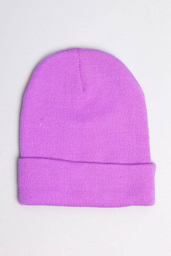 Lila Beanie - Purple Love
