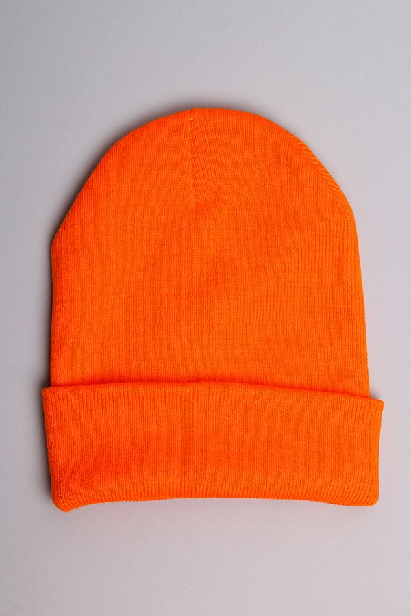 Orange Beanie - Orangy