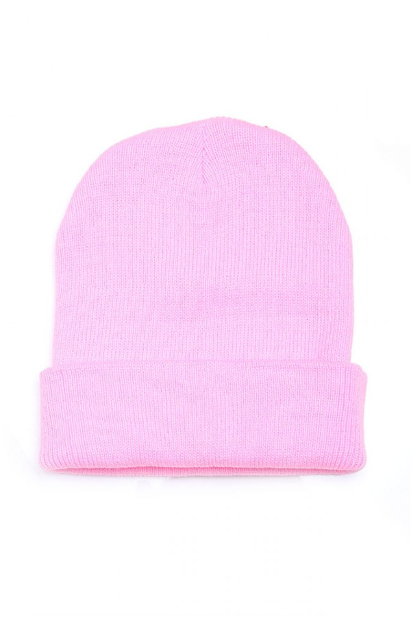 Ljusrosa Beanie - Cotton Candy