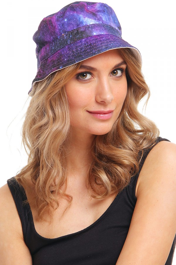 Bucket Hat - Purple Galaxy