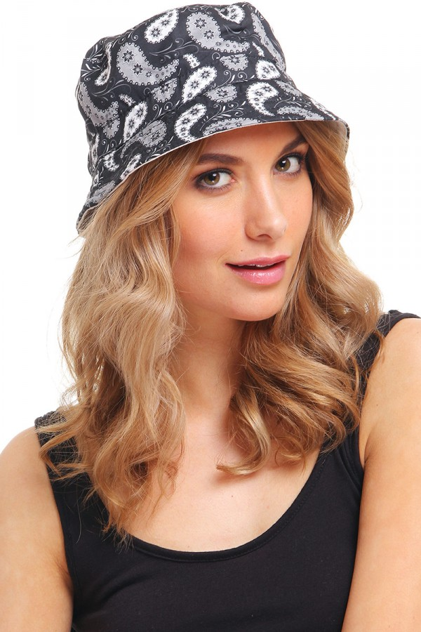Bucket Hat - Paisley