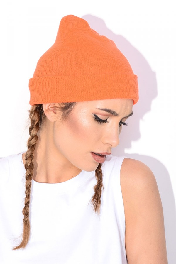 Beanie - Orange Pop