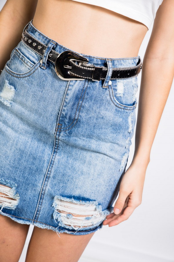 Buckle Belt - Wild Wild Rivets