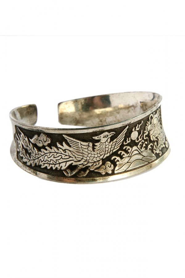 Vintage Armband - Dragon and Bird