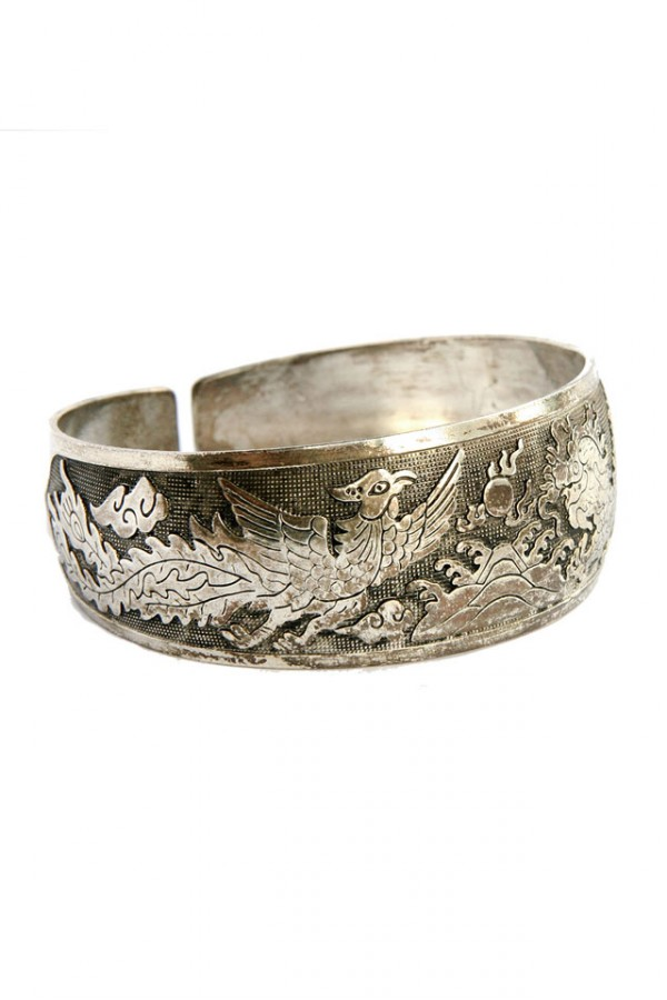 Vintage Armband - Dragon and Bird 2