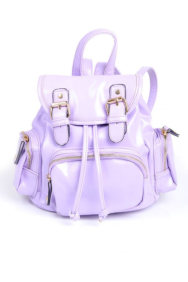 Liten Lila Ryggsäck - Mini Purple