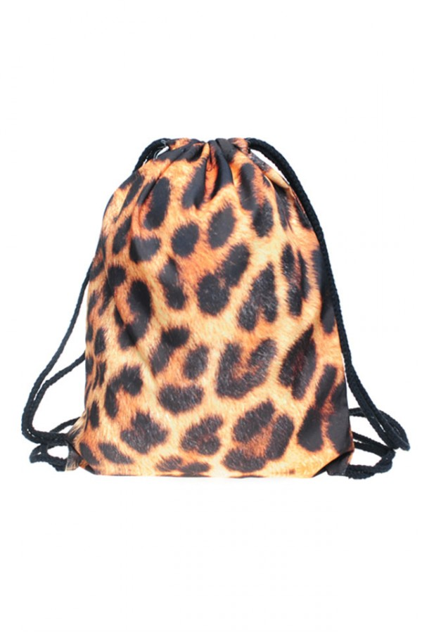 Drawstring Bag - Cheetah