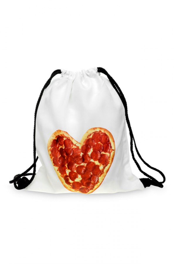 Drawstring Bag - Pizza Lover