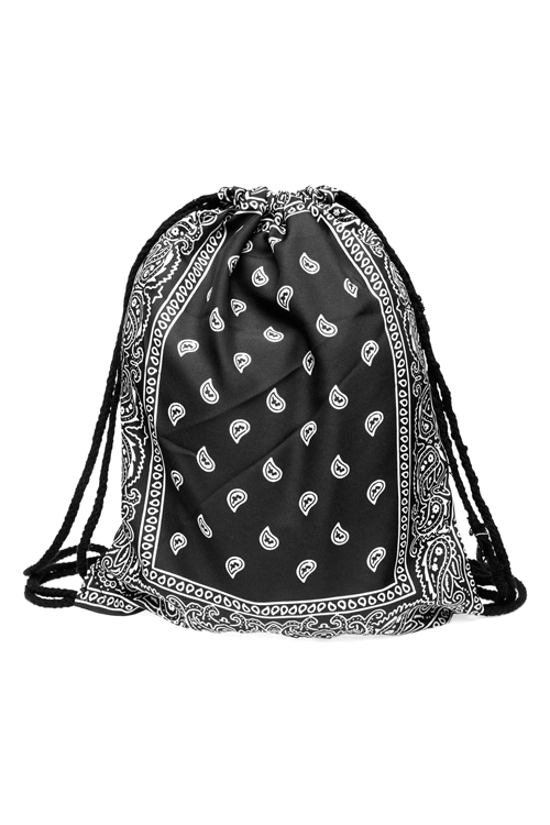Drawstring Bag - Bandana