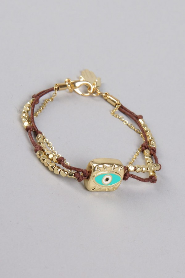 Onda Ögat Armband - Brown Evil Eye