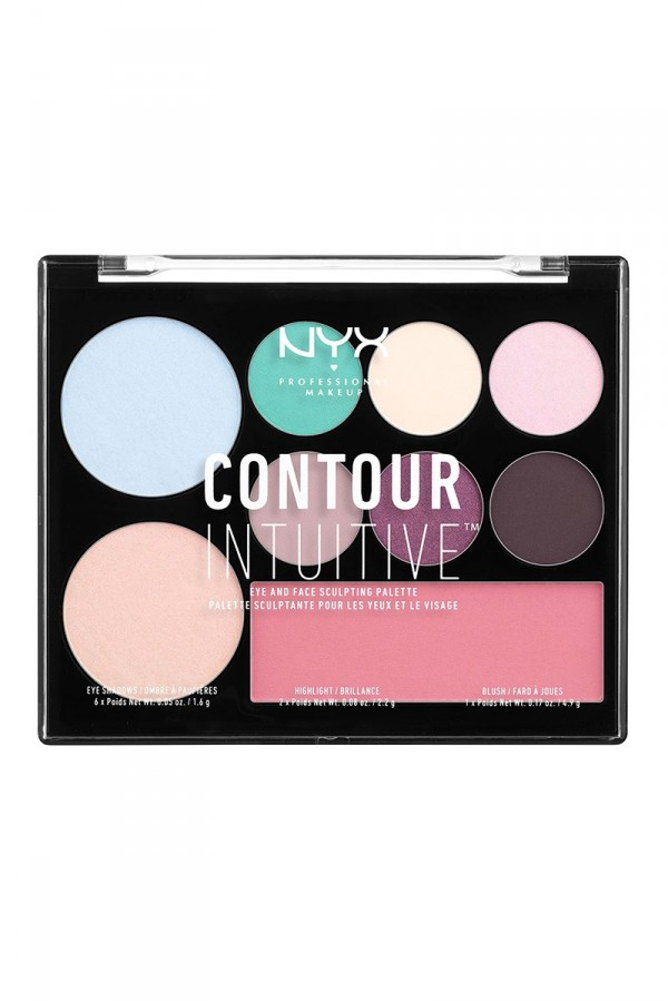 Contour Intuitive (Eye Scultping Shadow Palette/Shape & Drape) - Shade 01