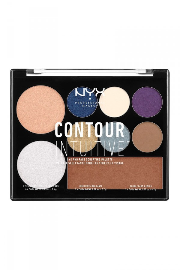 Contour Intuitive (Eye Scultping Shadow Palette/Shape & Drape) - Shade 04