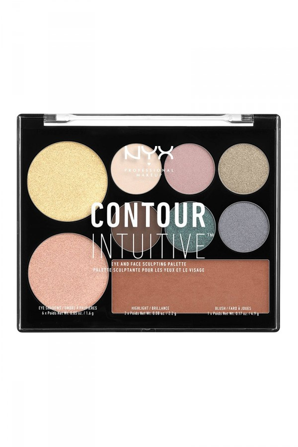 Contour Intuitive (Eye Scultping Shadow Palette/Shape & Drape) - Shade 05