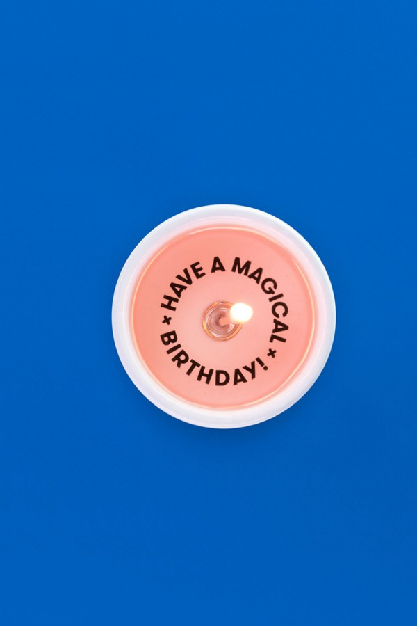 Have a magical birthday - Message Candle