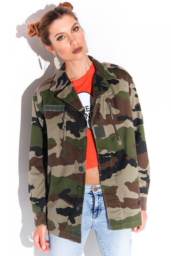 Vintage Camo Jacket - Forever Army