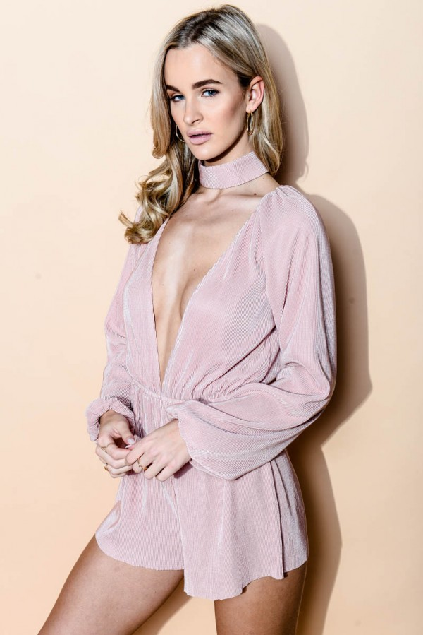 Playsuit - Miss Blush