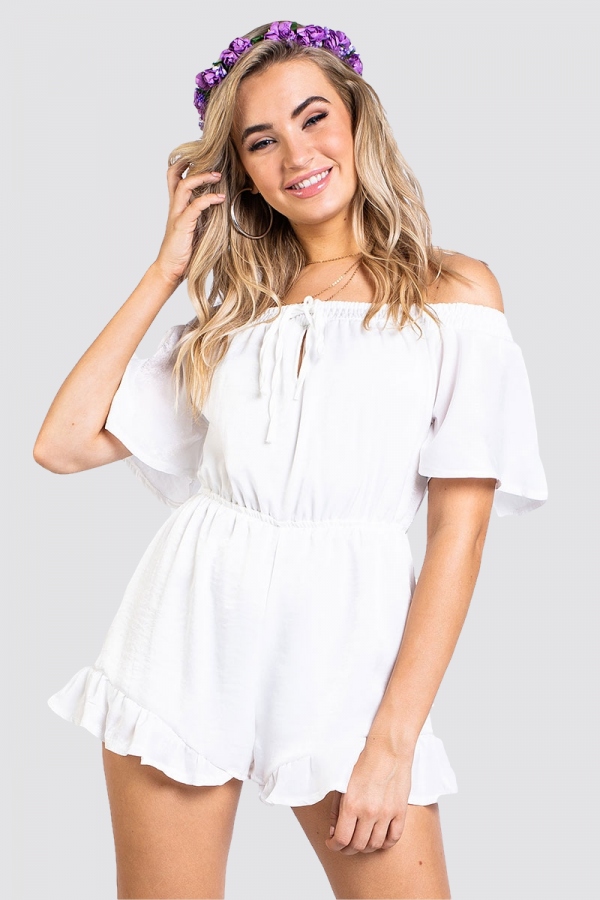Playsuit - Endless Summer White