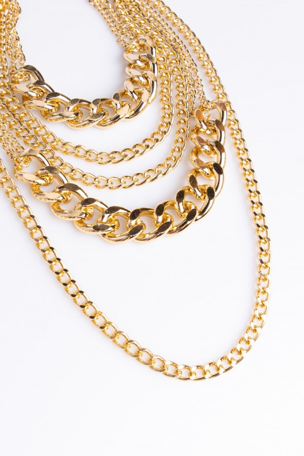 Halsband I Lager - Chainlicious Gold