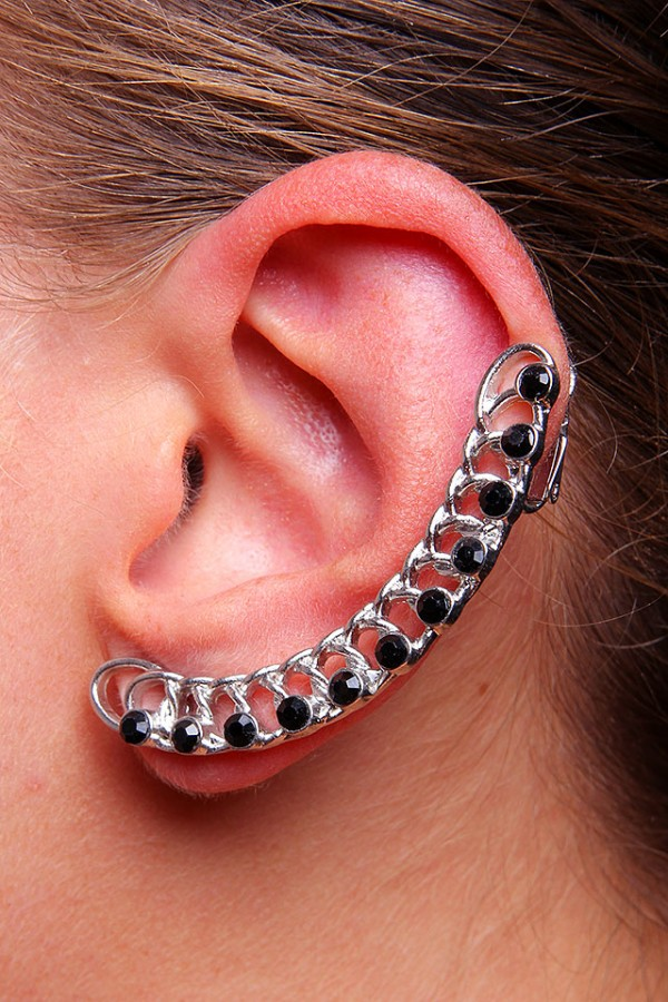 Ear Cuff - Glitter Chains