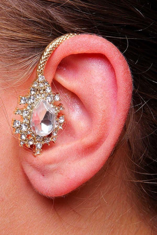 Ear Cuff - Royal Gold