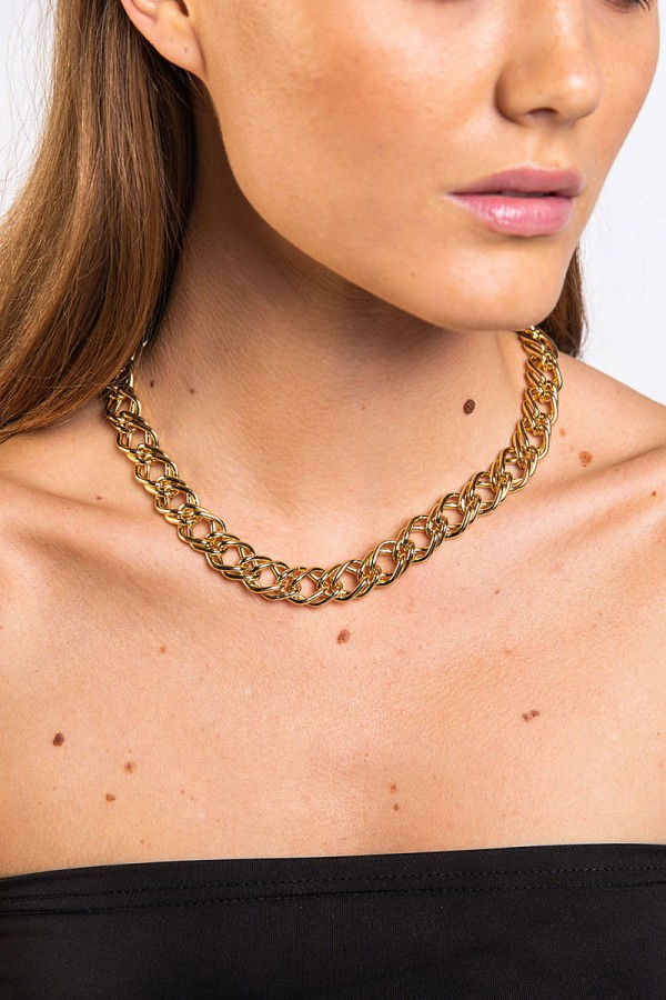 Halsband - 2 Layer Gold