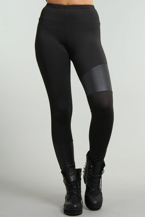 Svarta Leggings - Warrior 3 - REA