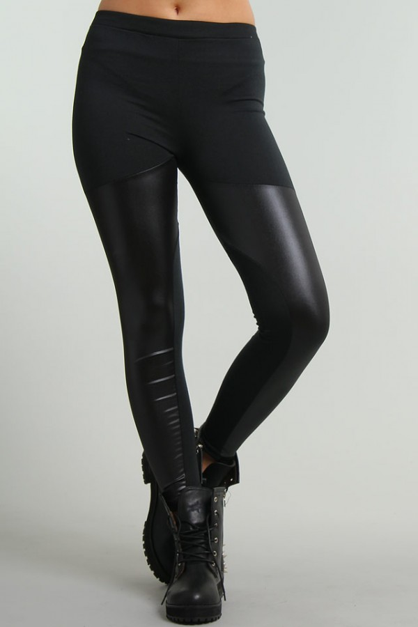 Glansiga Leggings - Warrior 4 - REA