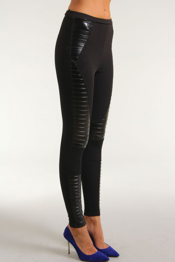 Evil Twin - Panelled Leggings