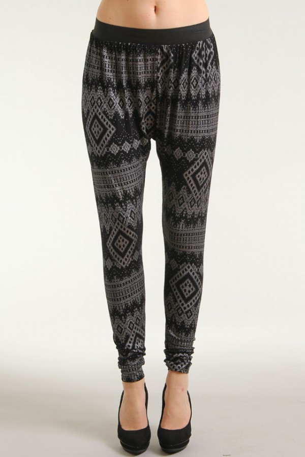 Aztec Harembyxor - Comfy Silver