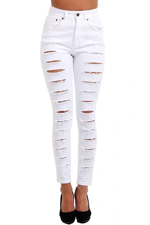 Vita Slitna Jeans - Shred Bare Jean
