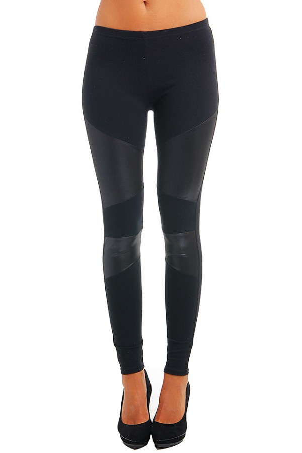 Svarta Leggings - Nela