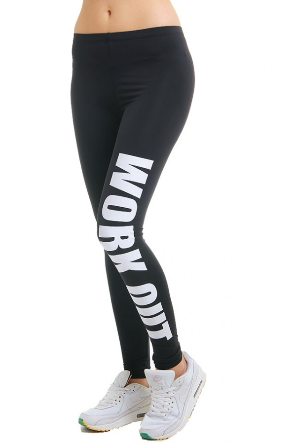 Svarta Leggings - Work Out