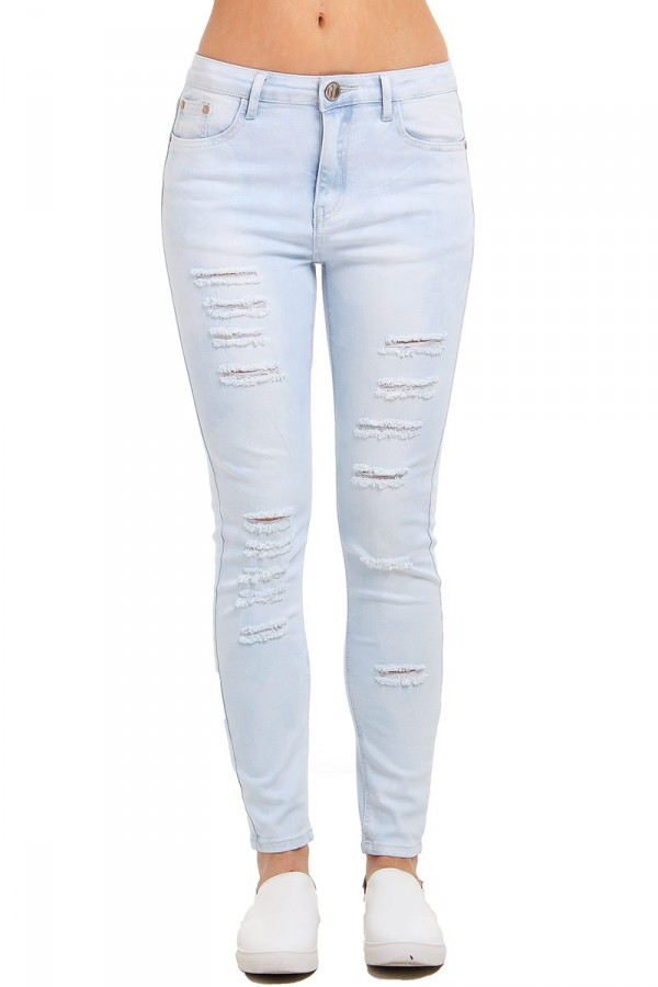 Slitna Jeans - Cotton Blue