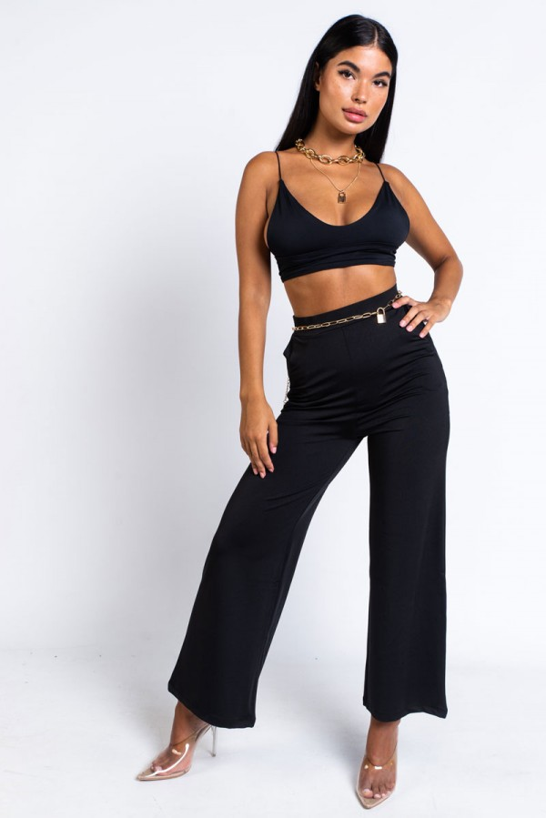 Recycled Flared Pants - All Out