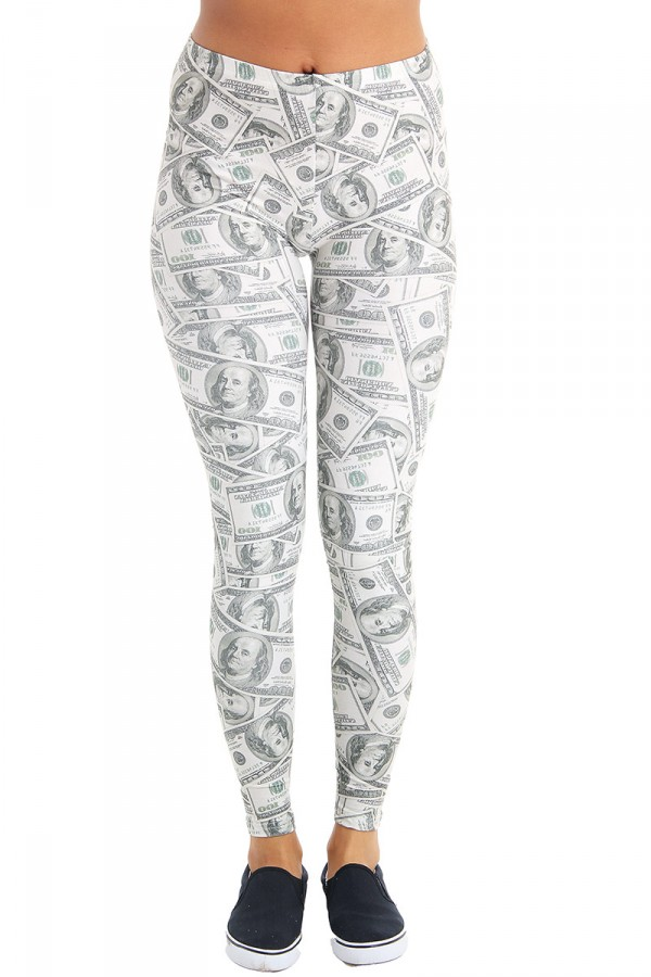 Leggings Med Tryck - Dollas