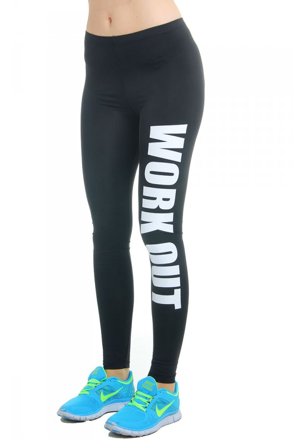 Svarta Tights - Work Out