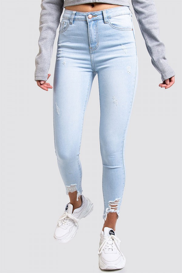 Jeans - Perfect Light Blue Hem